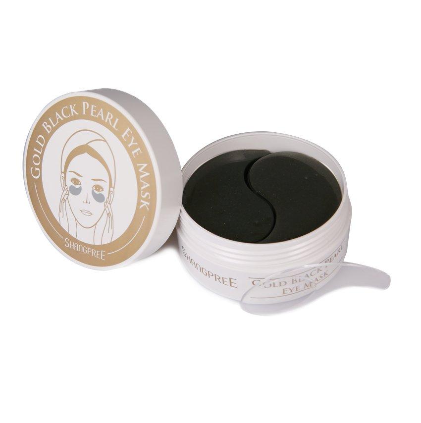 Shangpree Gold Black Eye Mask