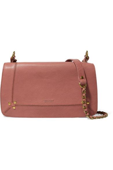 Jérōme Dreyfuss Bobi textured-leather shoulder bag