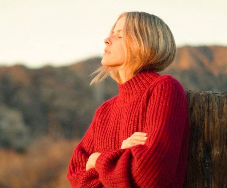 LuLu Sweater in Holly Berry