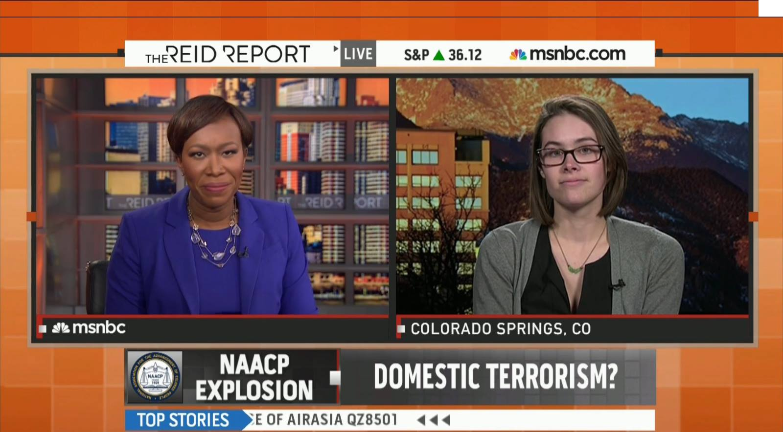 On Jan. 8, 2015,   I appeared on MSNBC's The Reid Report   to discuss what was known about the case at the time.