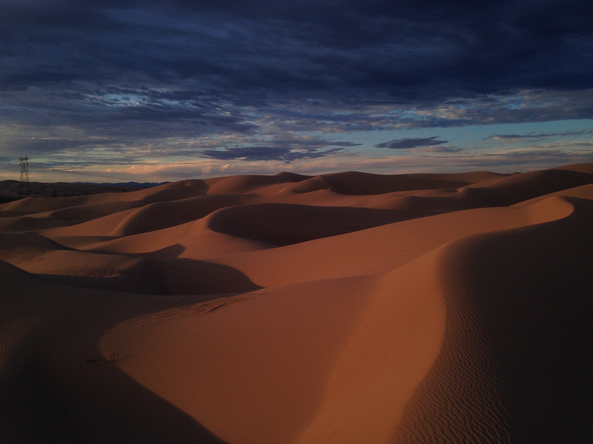 Magical. Imperial Sand Dunes, somewhere along the California/Arizona border. Photo by Kassondra Cloos