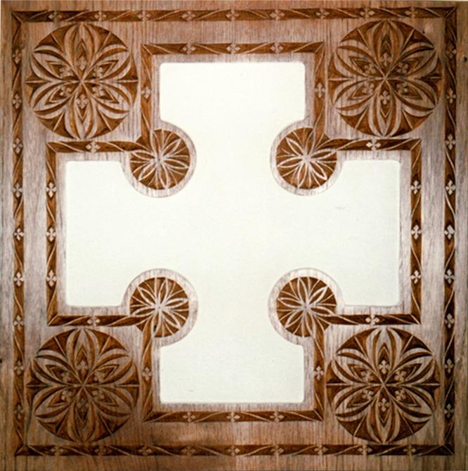 chip carved frame