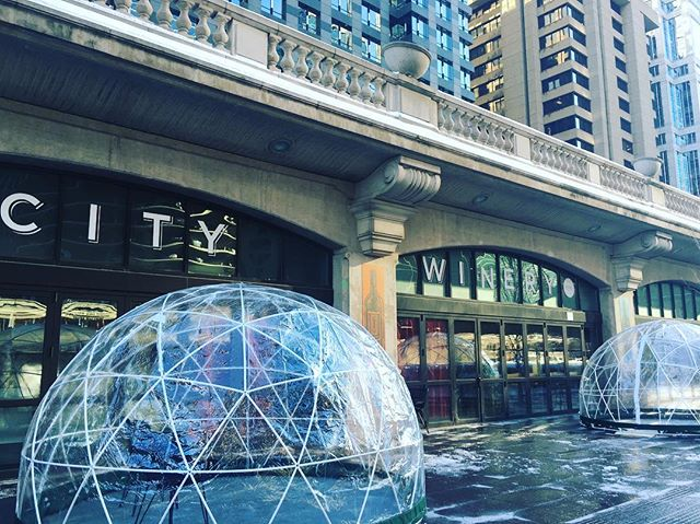 If you're looking for something to do this spring, look no further! The RiverWalk domes we build for City Winery in Chicago are now open! Book your reservation today! . . . .  #Riverwalk #Chicago #Geodesic #Domes #winestagram #citywinery #RiverNorth