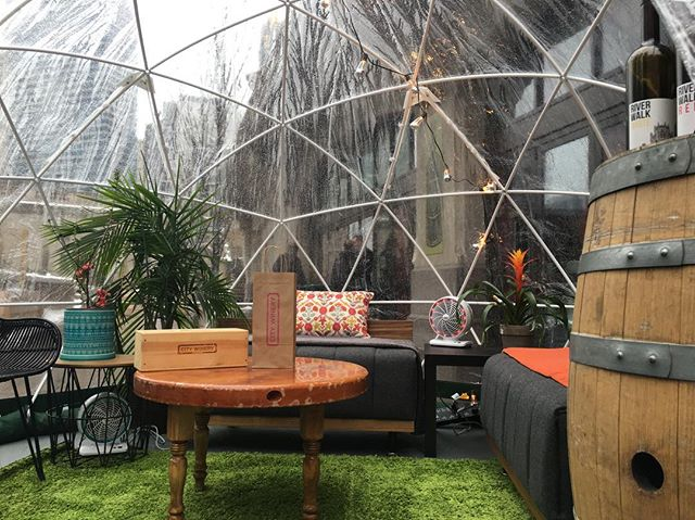 #CityWinery #Riverwalk #Domes