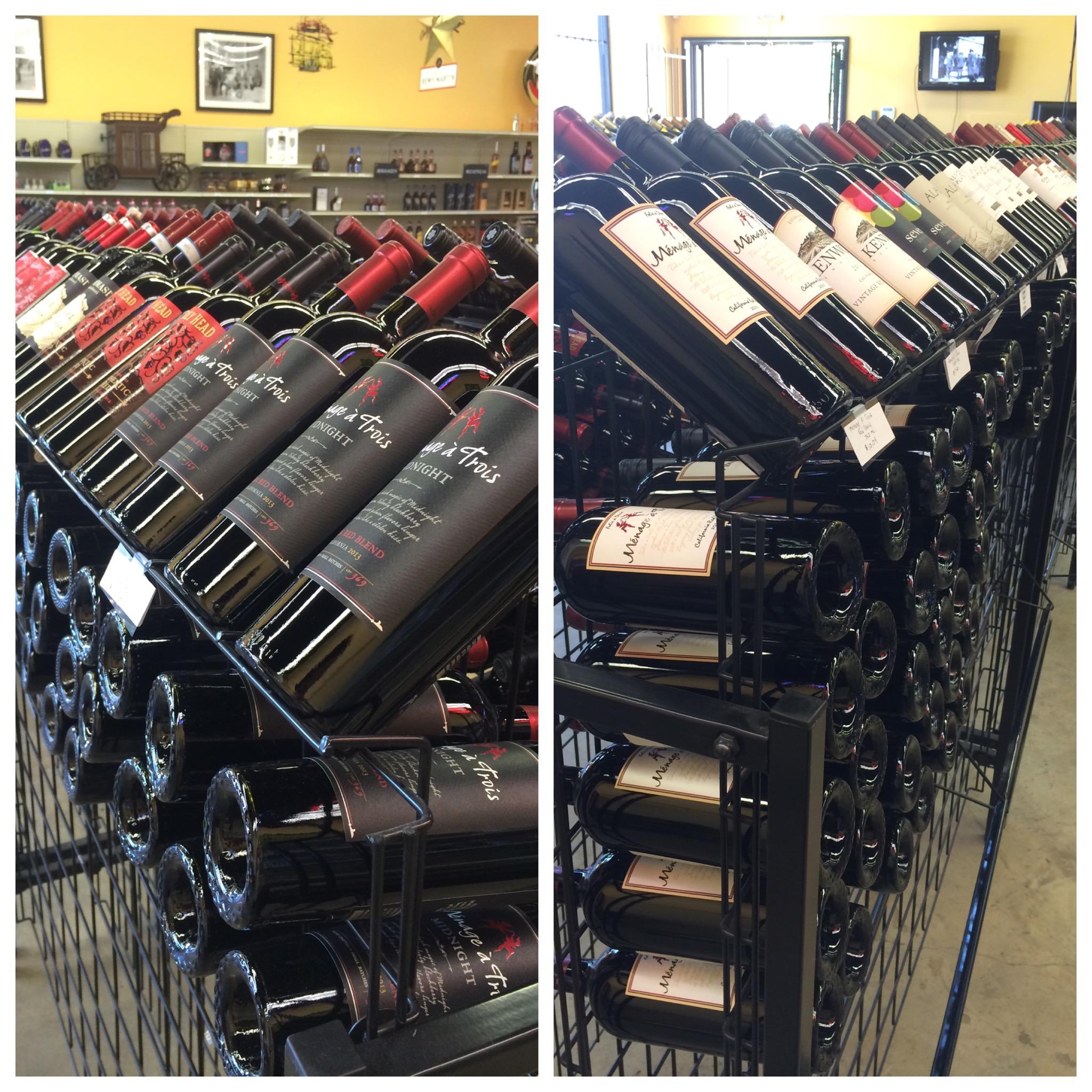 Wine from around the world!
