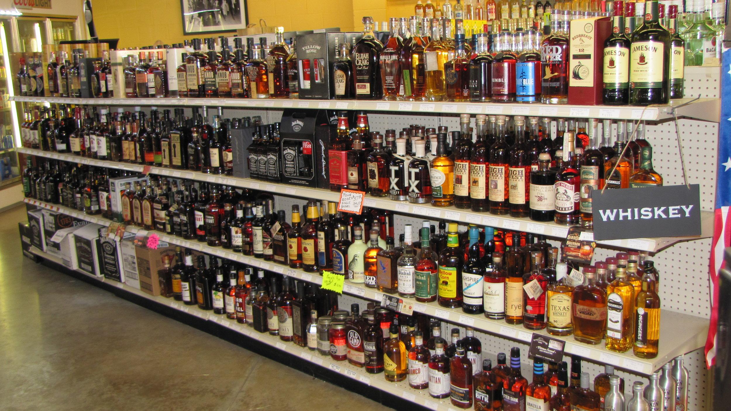 We're your bourbon headquarters!