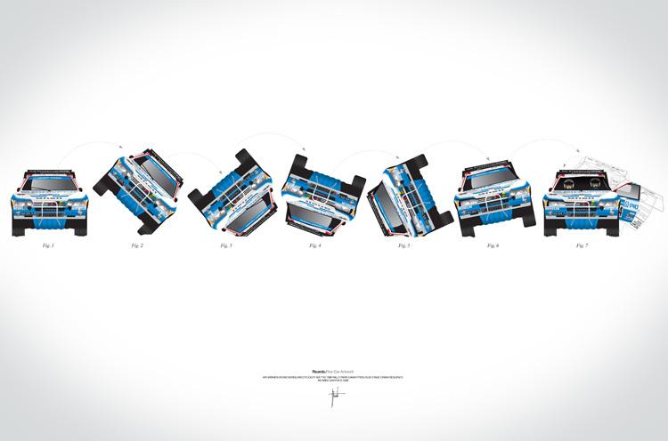 Ari Vatanen-Bruno Berglund, 1989 Paris Dakar crash sequence