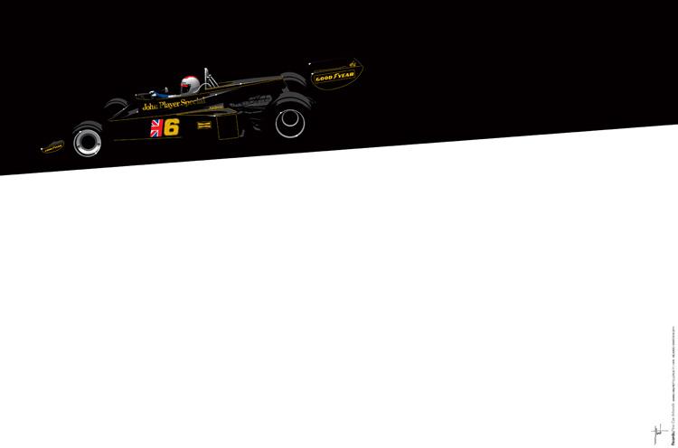 Mario Andretti, Lotus 77, 1976
