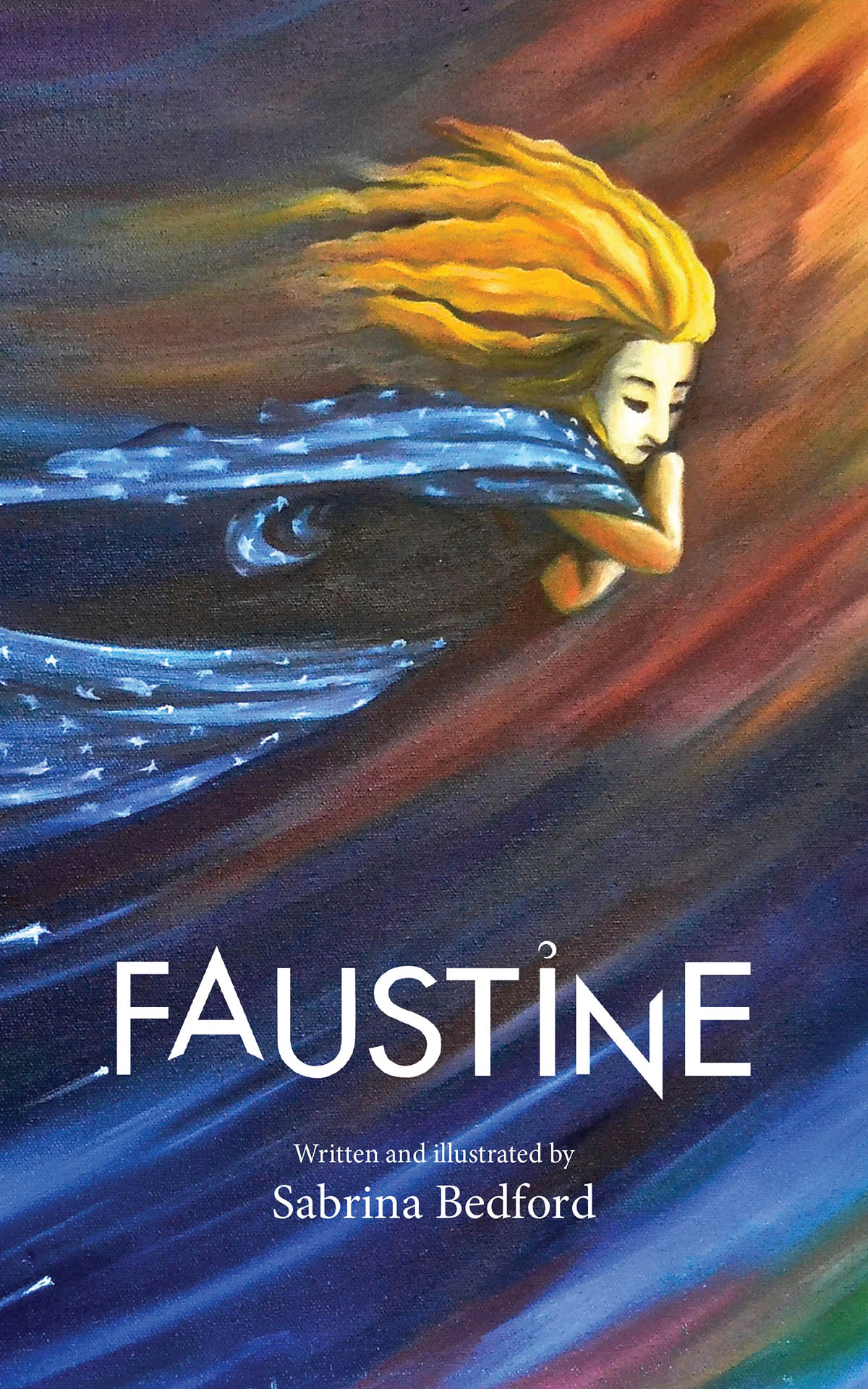 """Faustine"" Book Cover"