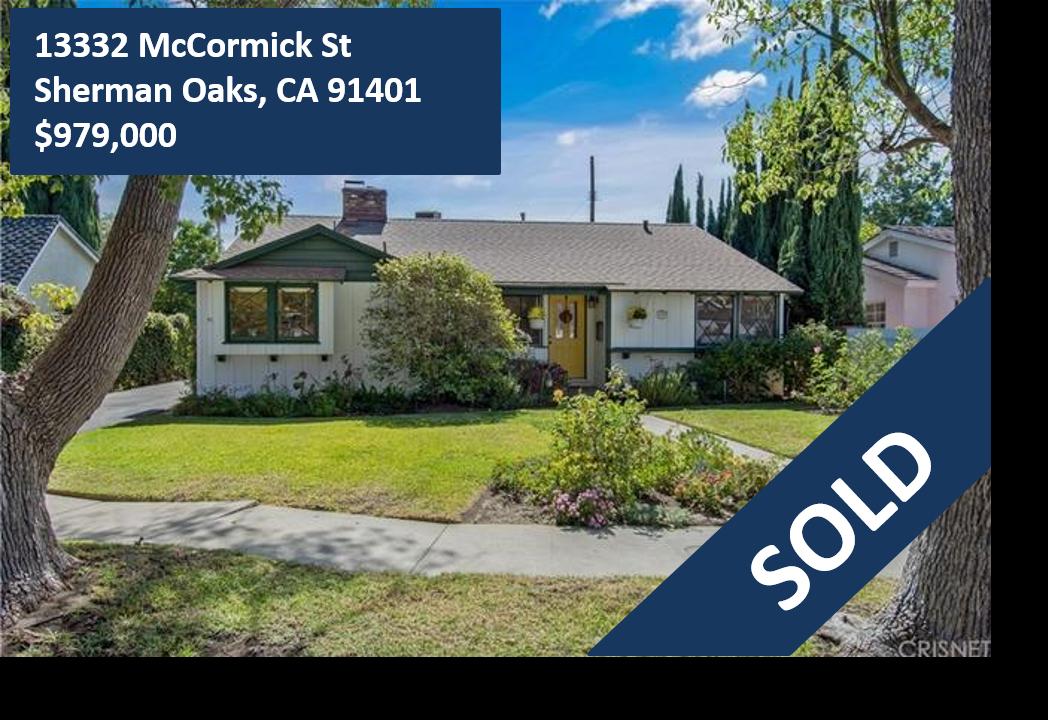 13332 McCormick Street, Sherman Oaks, CA 91401