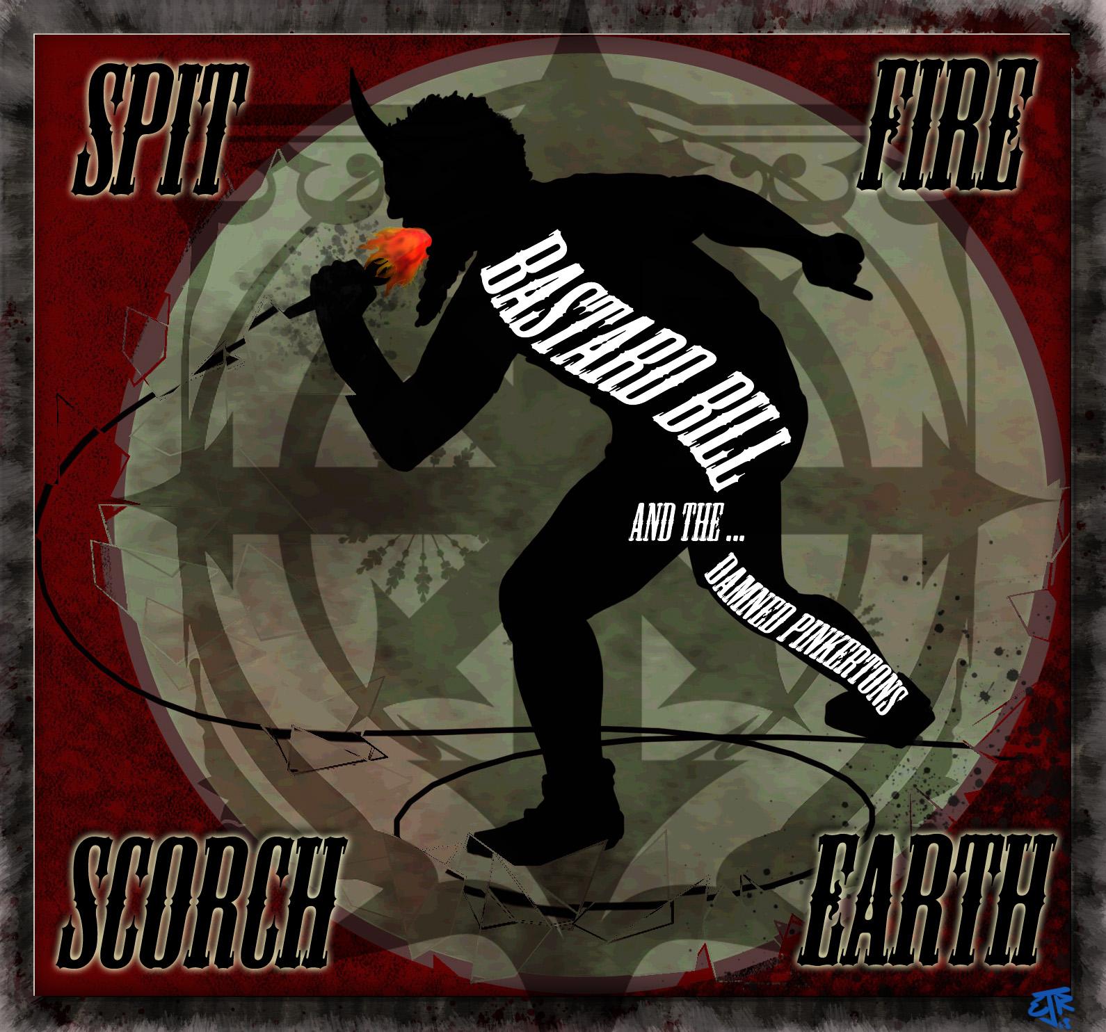 Bastard Bill Clutch CD Cover by Erik Roggeveen