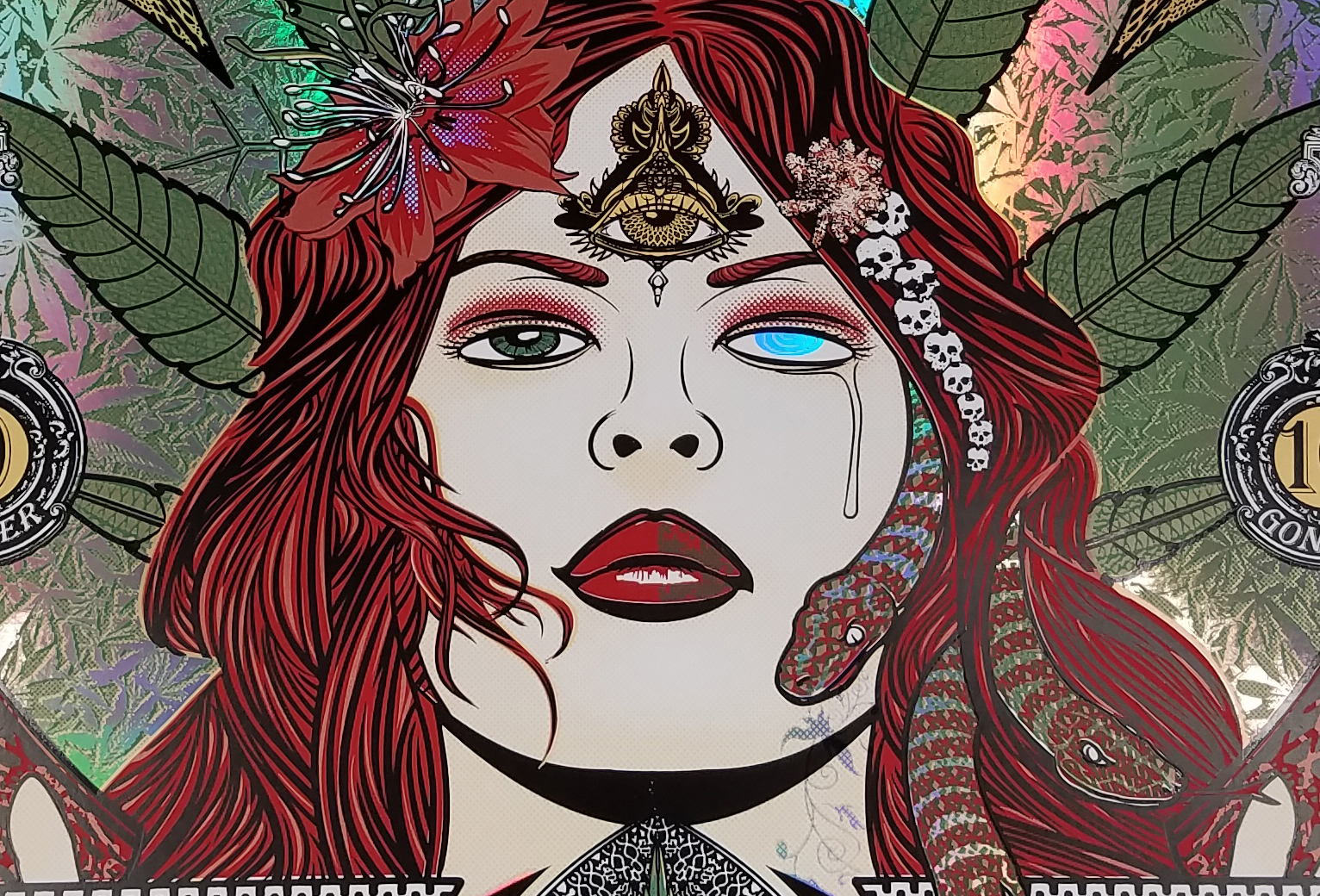 The foil goddess of limited availability!!