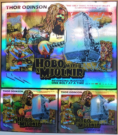 Hobo Rainbow Foil UNCUT