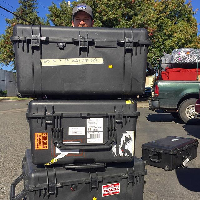 Our Pelican Case collection is no joke. It is kind of funny though... #seastandproductions