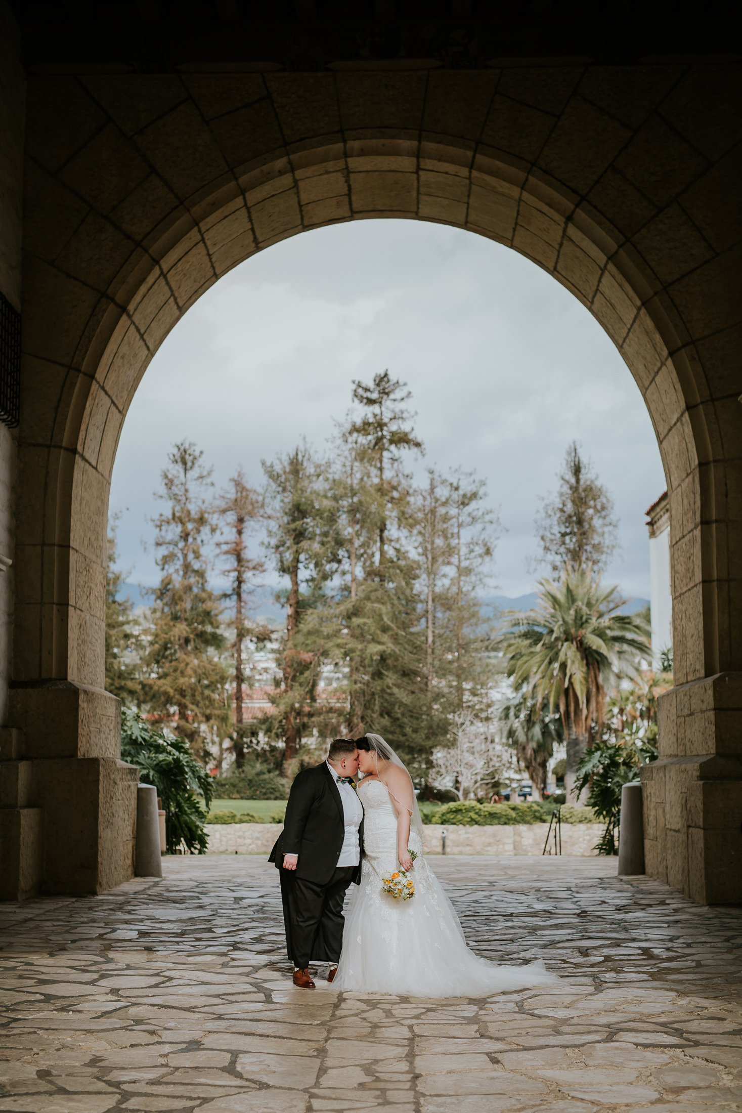 Dawn and Kate Santa Barbara courthouse wedding photographer-2.jpg