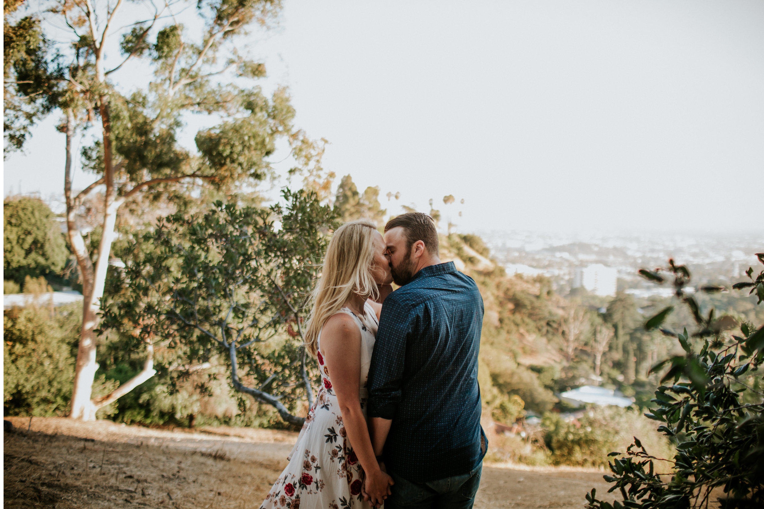 Adela and Scott Los Angeles Griffith Park Outdoor Engagement Session-18.jpg