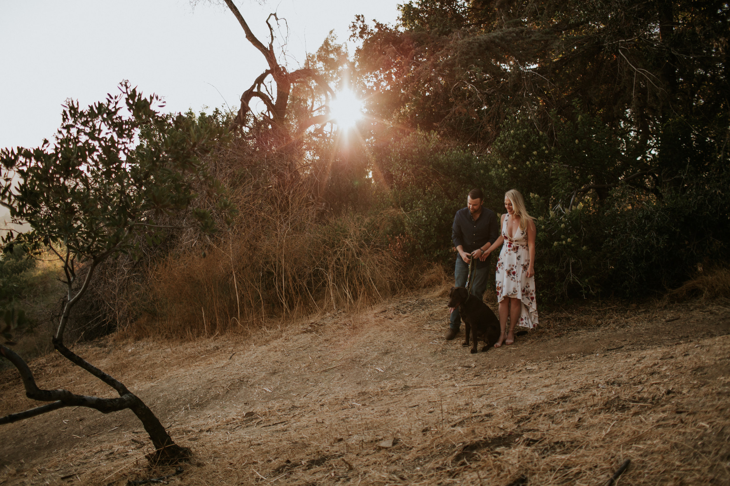 Adela and Scott Los Angeles Griffith Park Outdoor Engagement Session-26.jpg