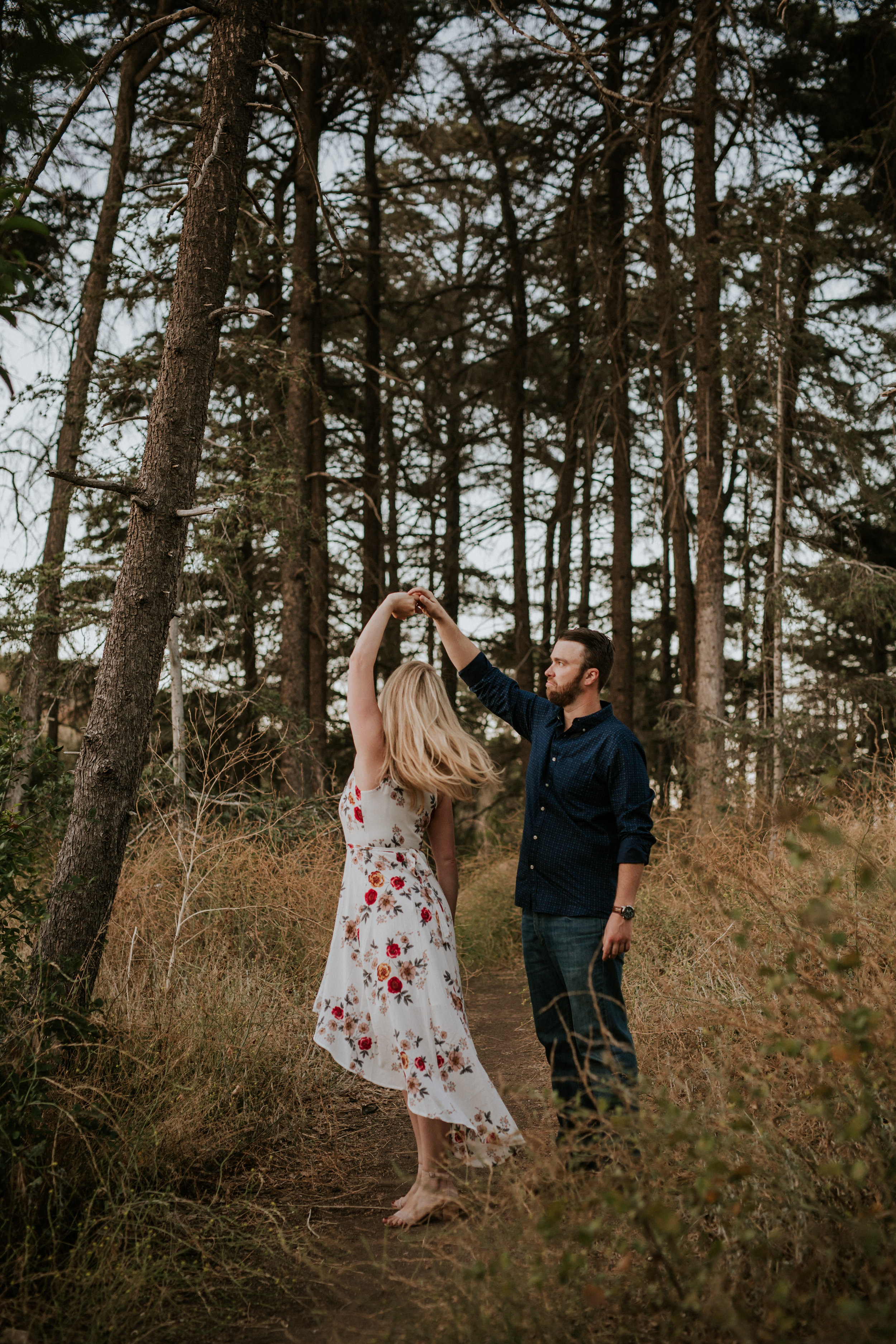 Adela and Scott Los Angeles Griffith Park Outdoor Engagement Session-83.jpg