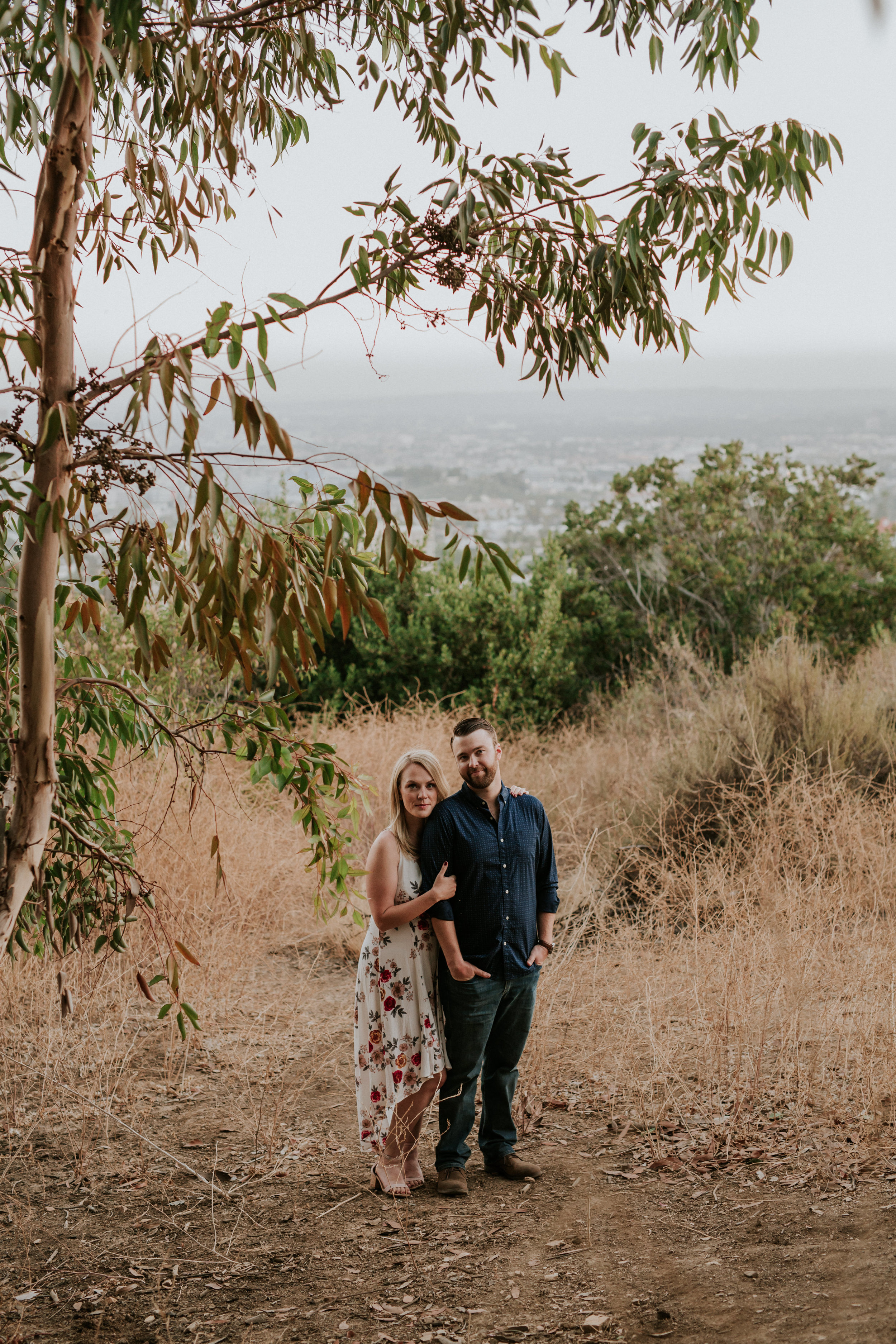 Adela and Scott Los Angeles Griffith Park Outdoor Engagement Session-113.jpg