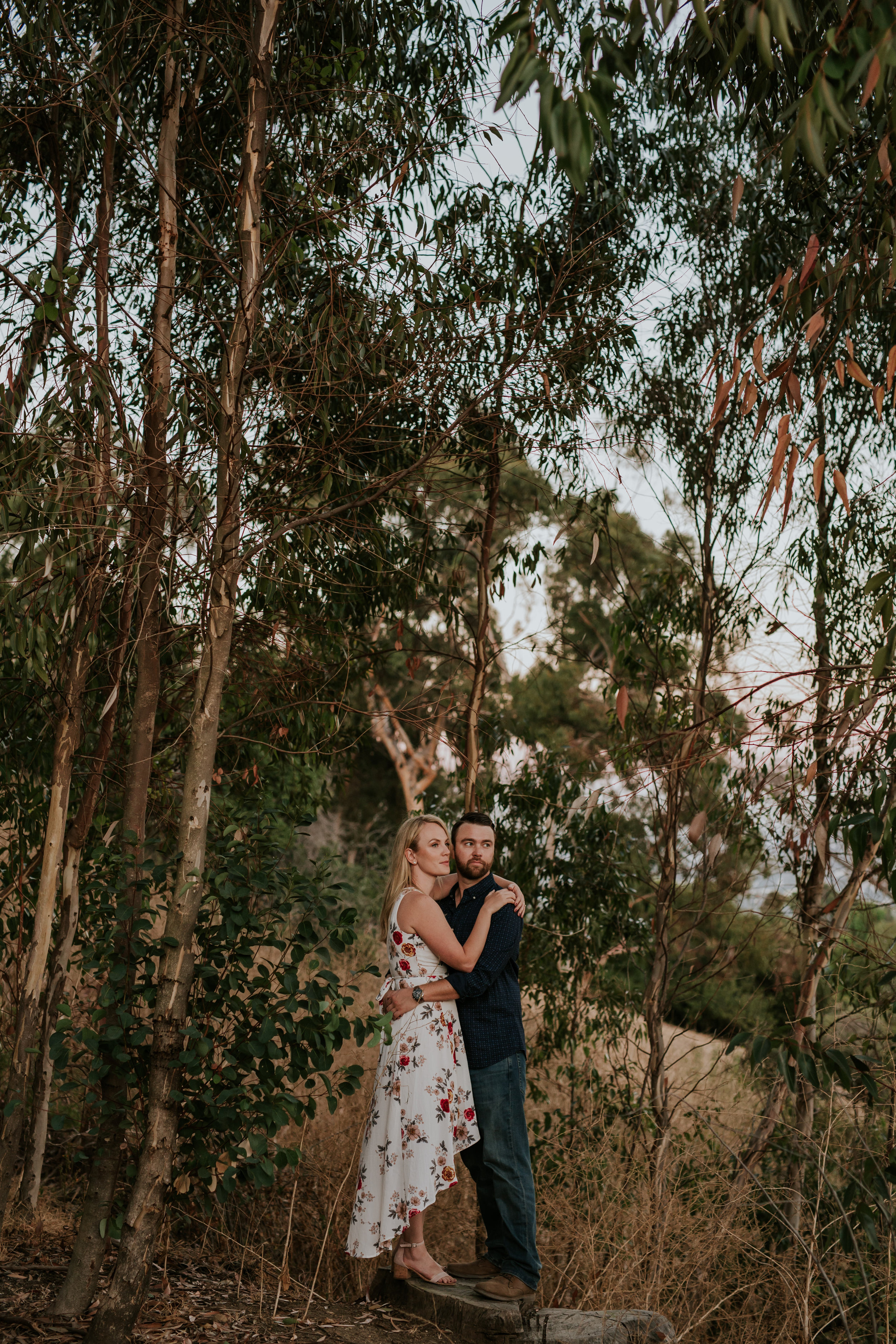 Adela and Scott Los Angeles Griffith Park Outdoor Engagement Session-118.jpg