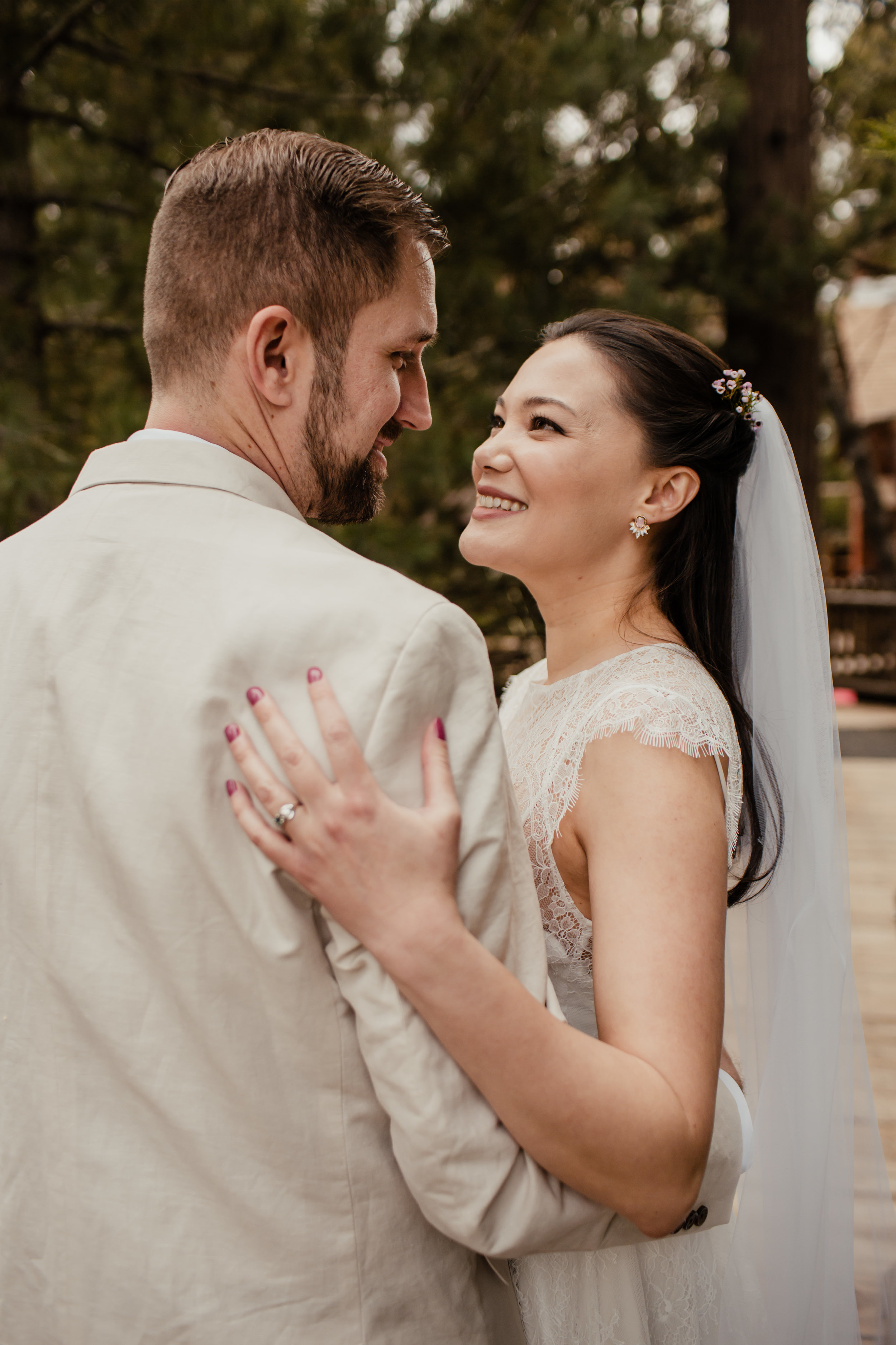 Ariel and Josh Lake Arrowhead Pine Rose Cabins Wedding -91.jpg