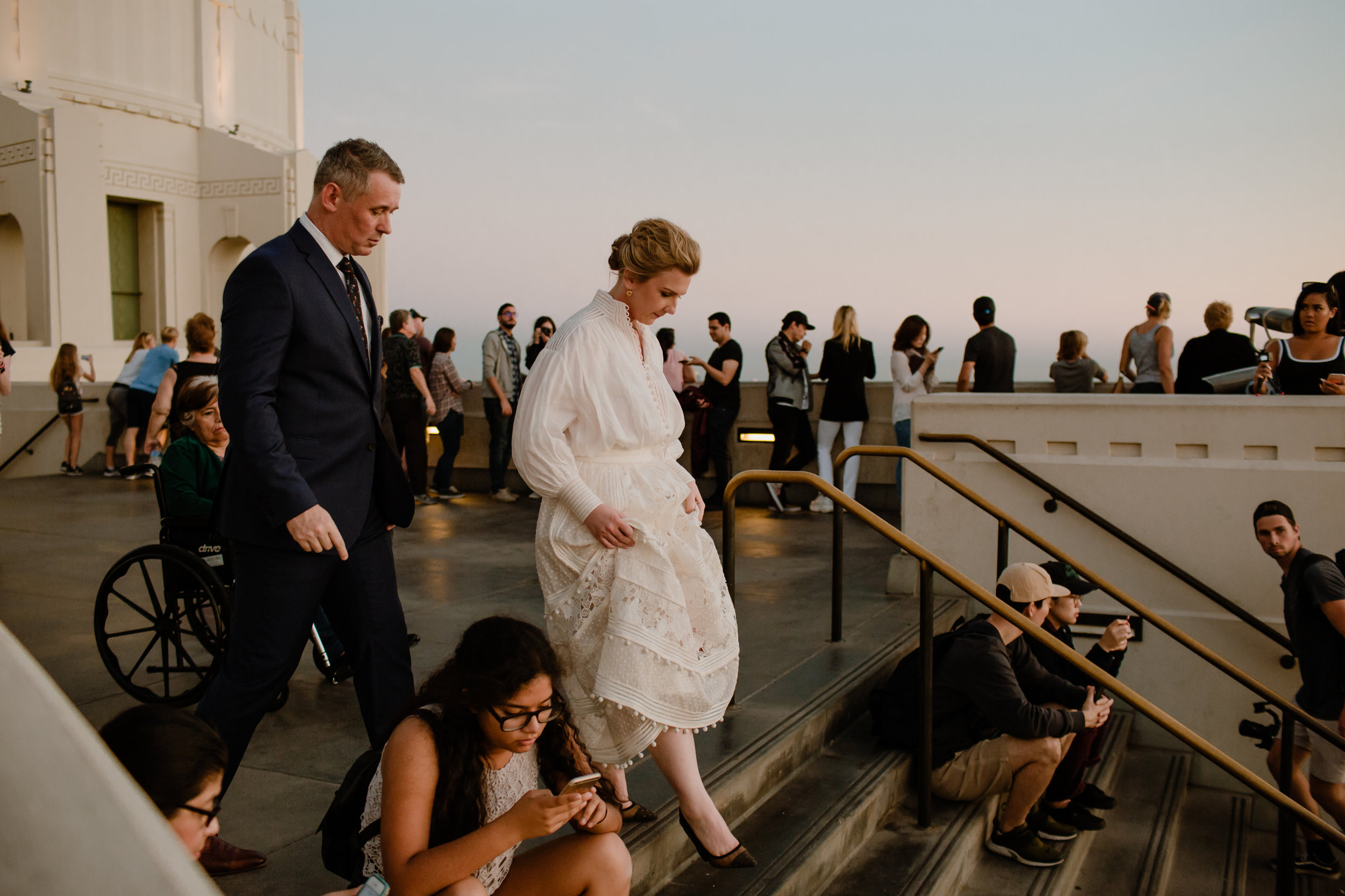 Iva and Simon Griffith Observatory Elopement Los Angeles Wedding-56.jpg
