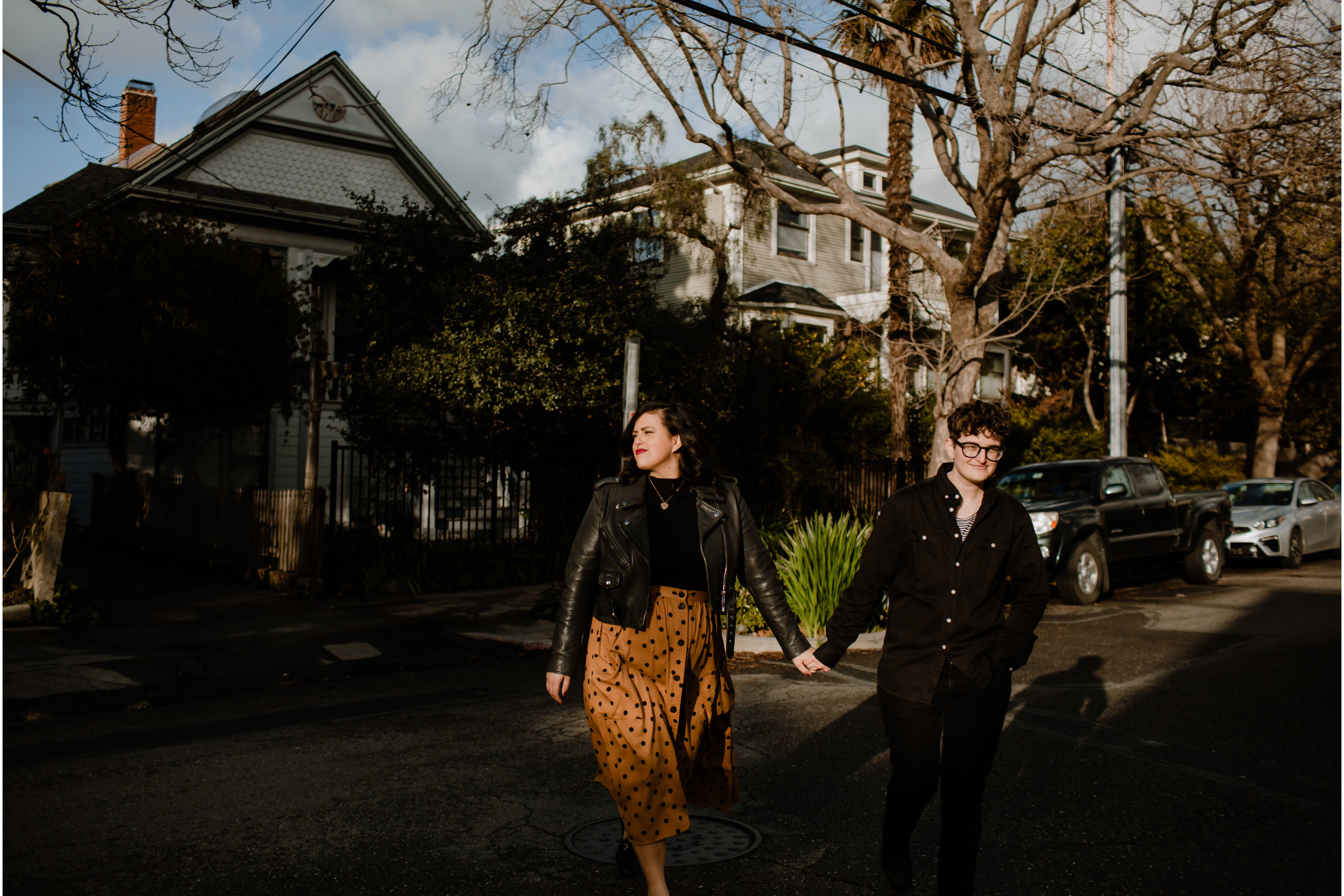 Strolling in Berkeley, CA - See more engagement session's