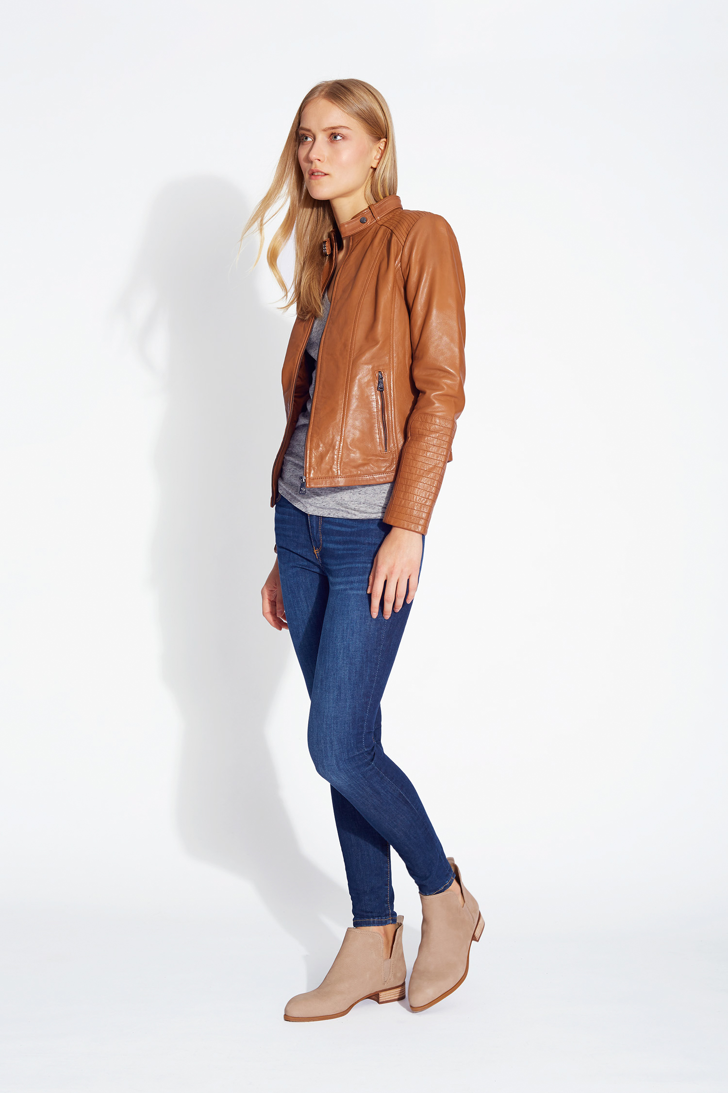 Bernardo Belted Collar Leather Jkt Side-Bernardo.jpg