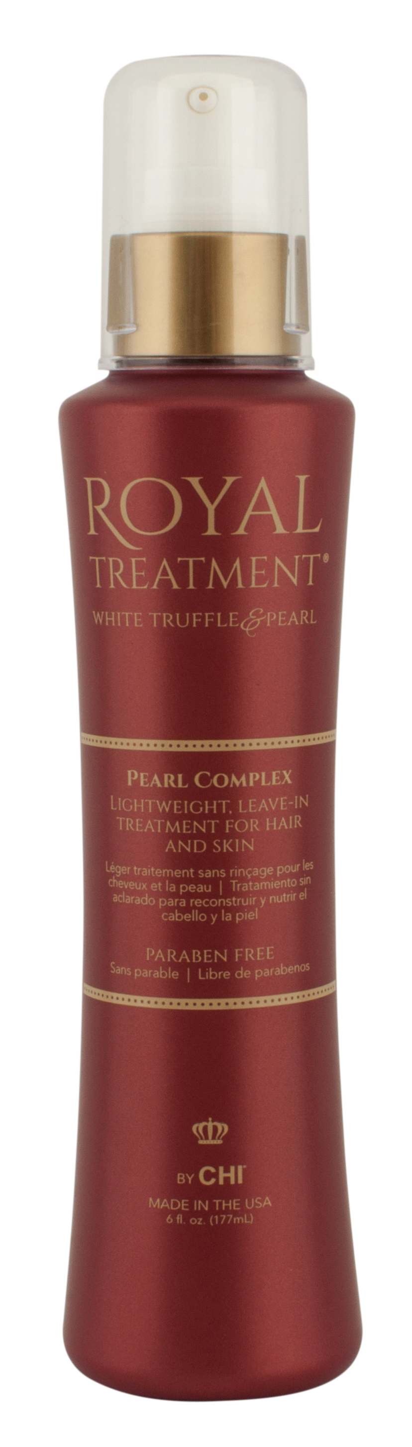 9. Farouk Royal Treatment Pearl  Complex Lightweight Leave-In Treatment for Hair and Skin by CHI $44.00 from www.chi.com