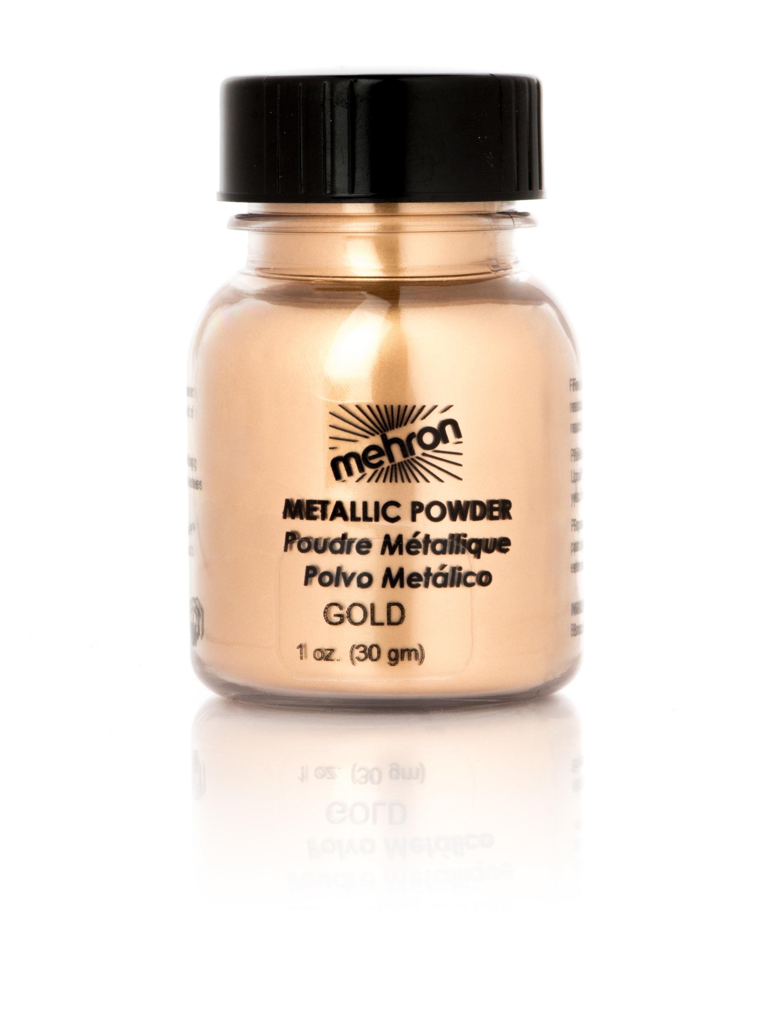 10. Mehron Makeup Metallic Powder in Gold $10.95 from www.mehron.com