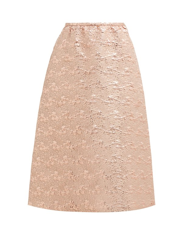 3. Rochas Floral-Brocade Wool-Blend Midi Skirt $1,332 from  www.matchesfashion.com