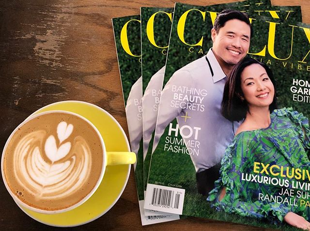 Be sure to get your copy of our #summer Home & Garden edition featuring @thejaesuhpark and @randallpark before they sell out! ☀️😎 #luxlife