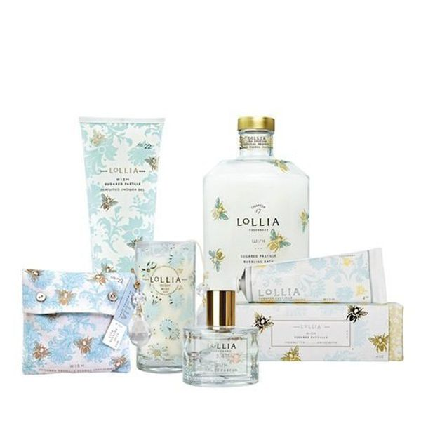 FOR THE SELF-CARE SWEETHEART - For the mom that deserves a little pampering, La Rouge offers an array of fine bubble baths, bath salts, eau de parfum, and more from Lollia. With notes of vanilla bean and jasmine, this set is as good as a calming day at the spa.Lollia Collection $15-$60 from La Rouge Boutique