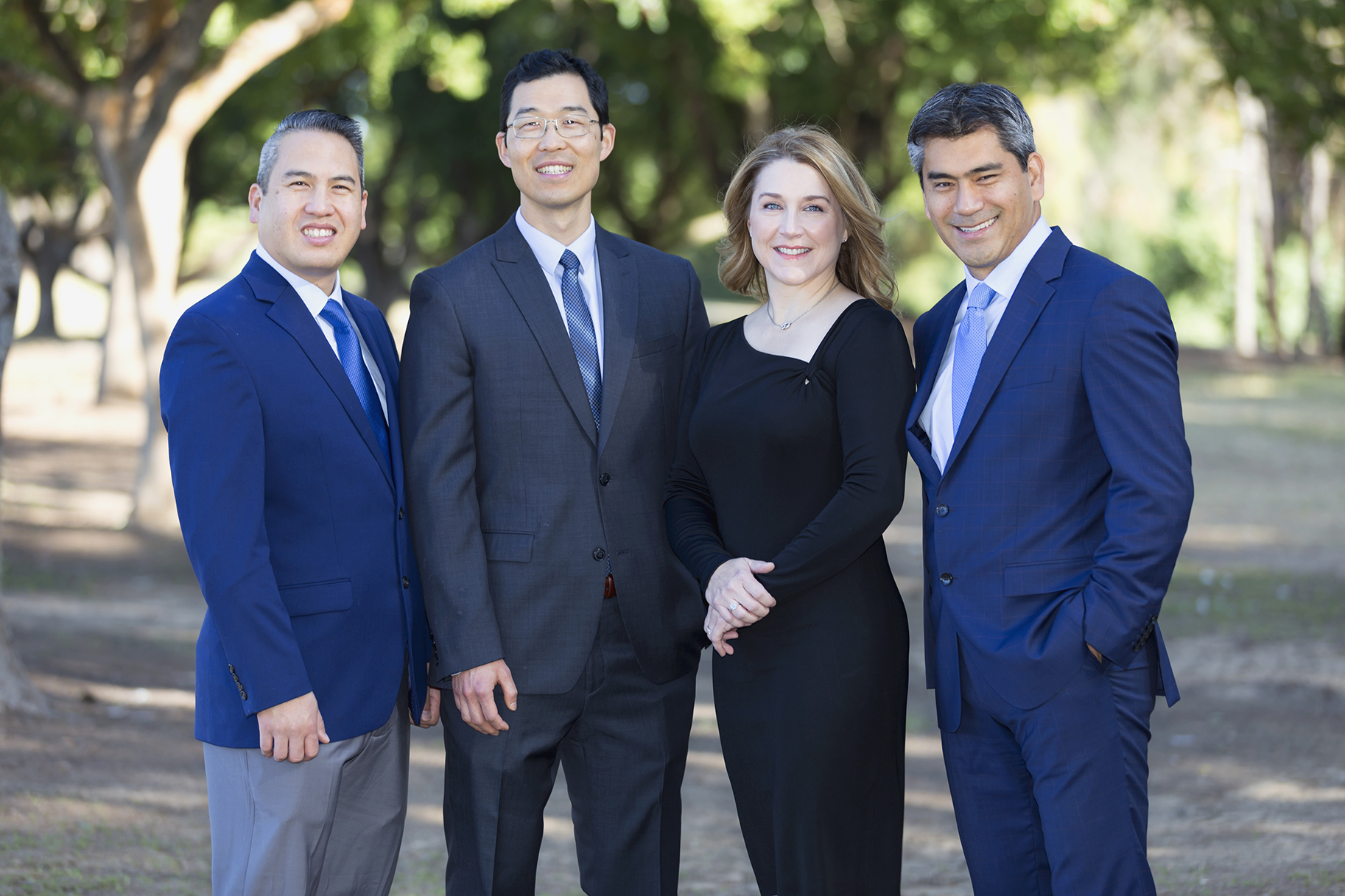 Allen T. Chien, DDSBrian Huh, DMDShannon Barnhart, DDSArdavan Kheradpir, DMD, MD - Focused on excellence in oral surgical care and the patient experience.