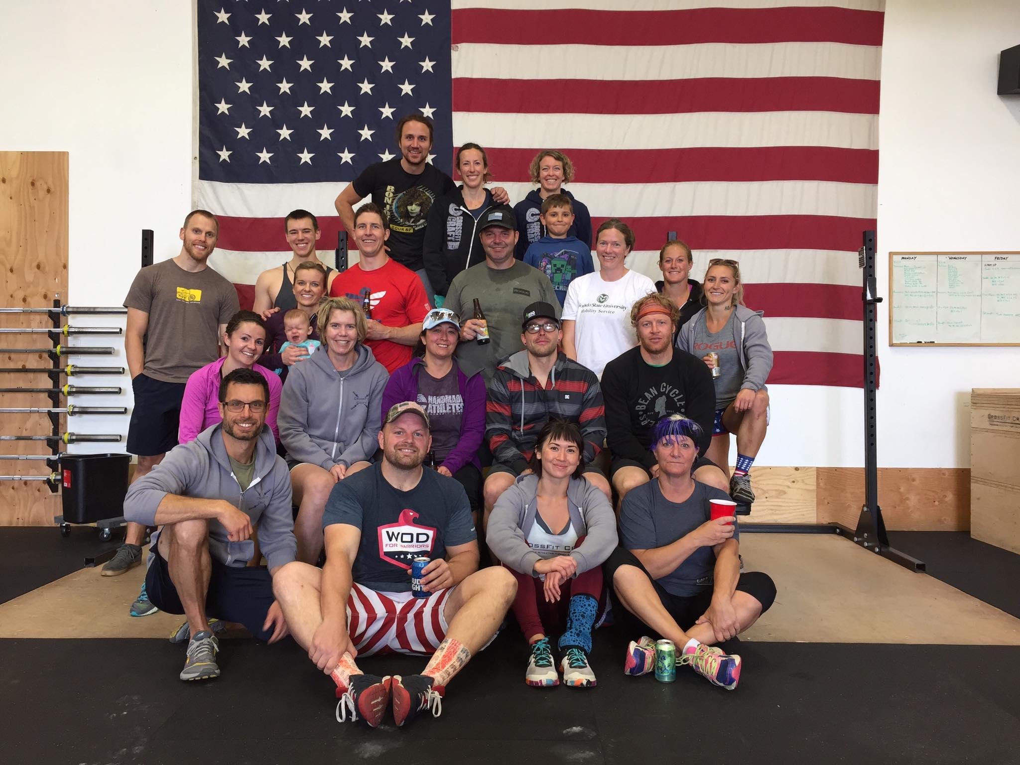 CrossFit Craft Memorial Day