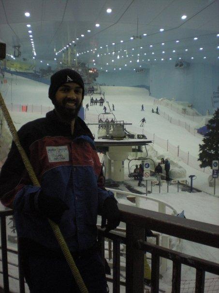 I've never been skiing or snowboarding. But I have been innertubing atSki Dubai (the ski slopes inside a mall in Dubai, UAE). That's good enough for me.