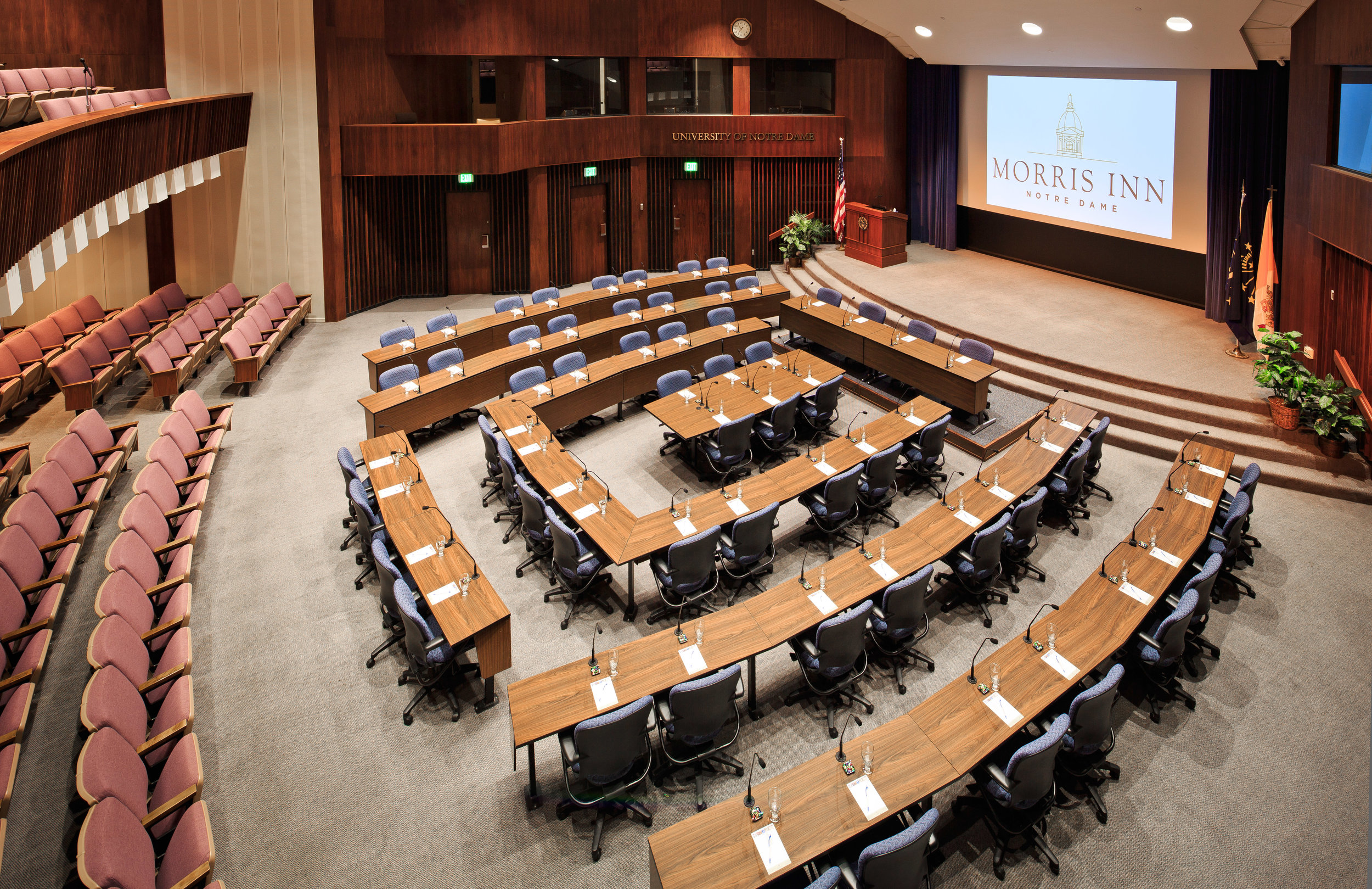 McKenna Hall, site of Psychology & Peace 2018.  Photo courtesy of University of Notre Dame