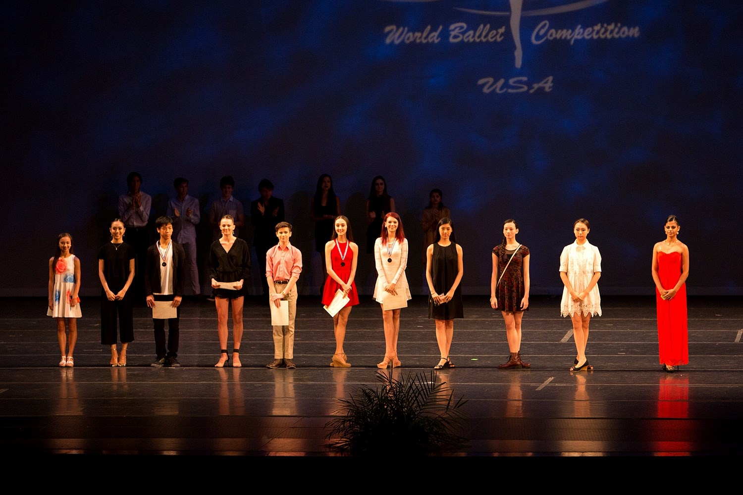 2016 Pre-professional Category Winners. Image courtesy of World Ballet Competition website.