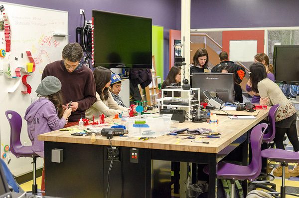 "Stanford's ""Makers in Residence"" Fab Lab"