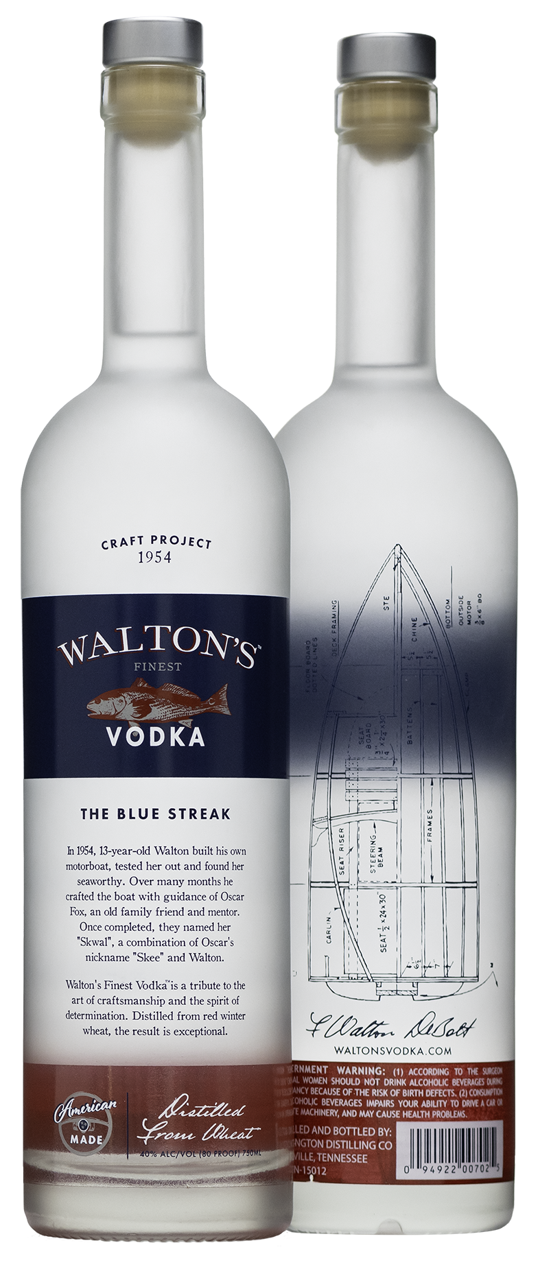Walton's Finest Vodka