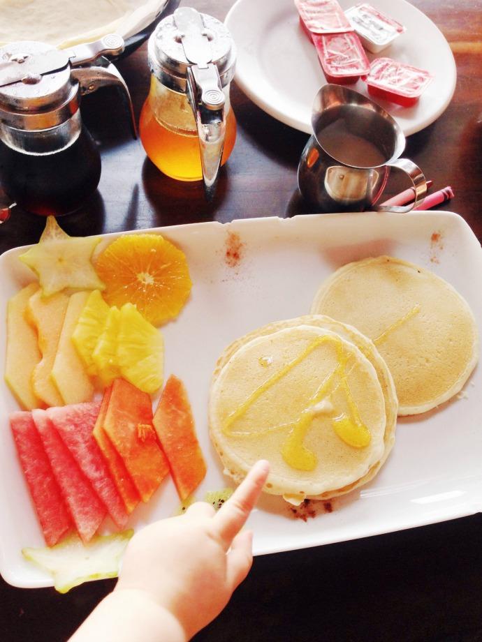 playa del carmen breakfast - this little joy