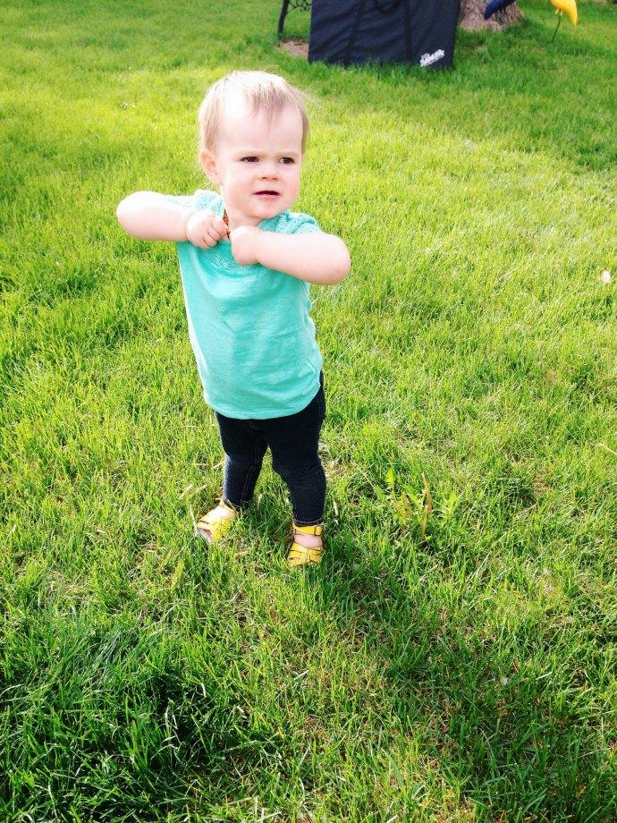 reese loves spring - this little joy