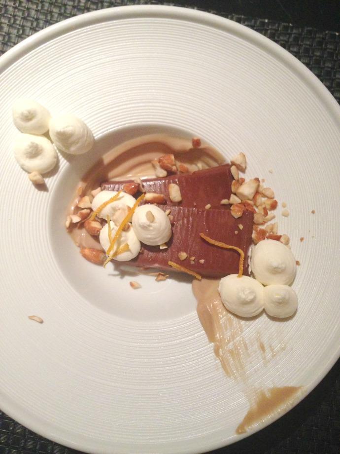 dessert at sage - vegas