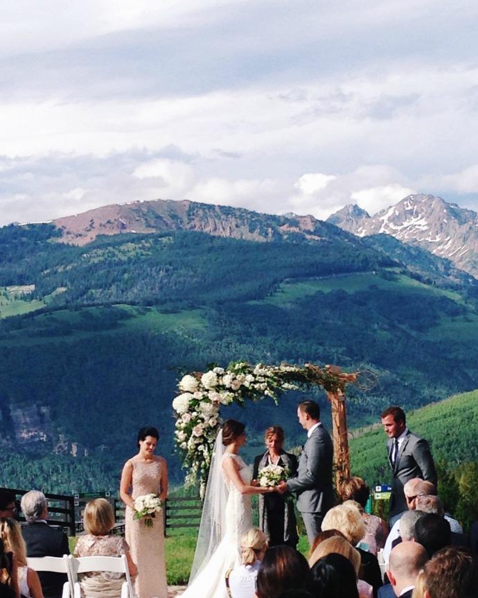this little joy - vail wedding