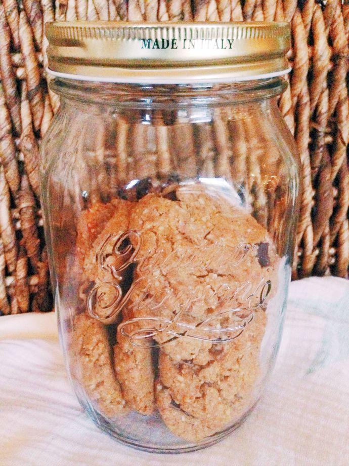 this little joy - gluten free peanut butter chocolate chip cookies
