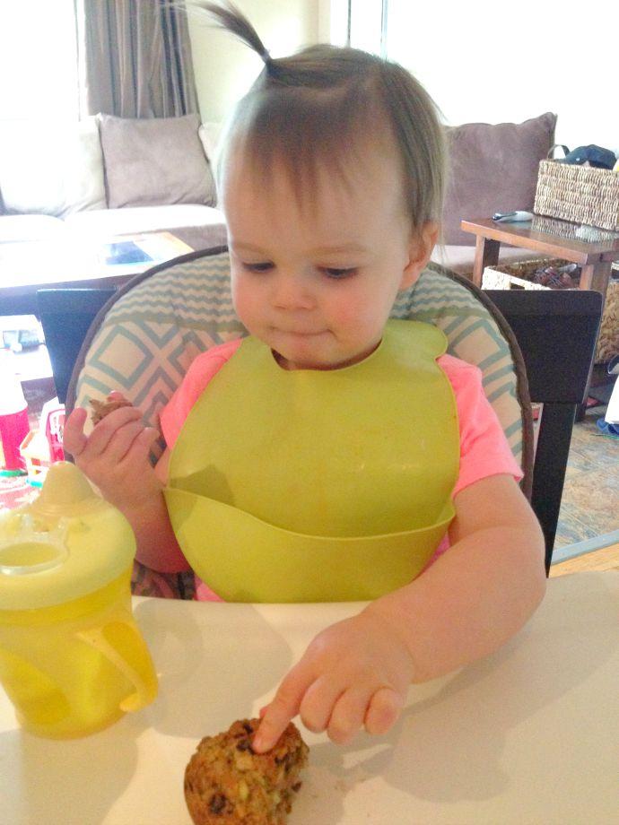 this little joy - zucchini oatmeal muffins