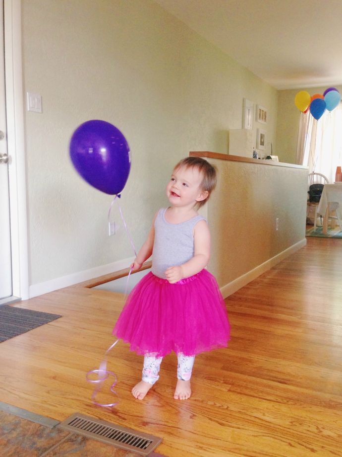 this little joy - reese turns two