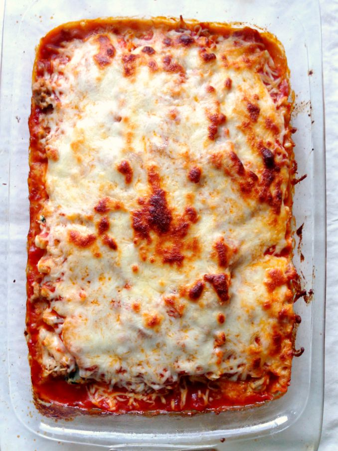 this little joy - our favorite GF lasagna