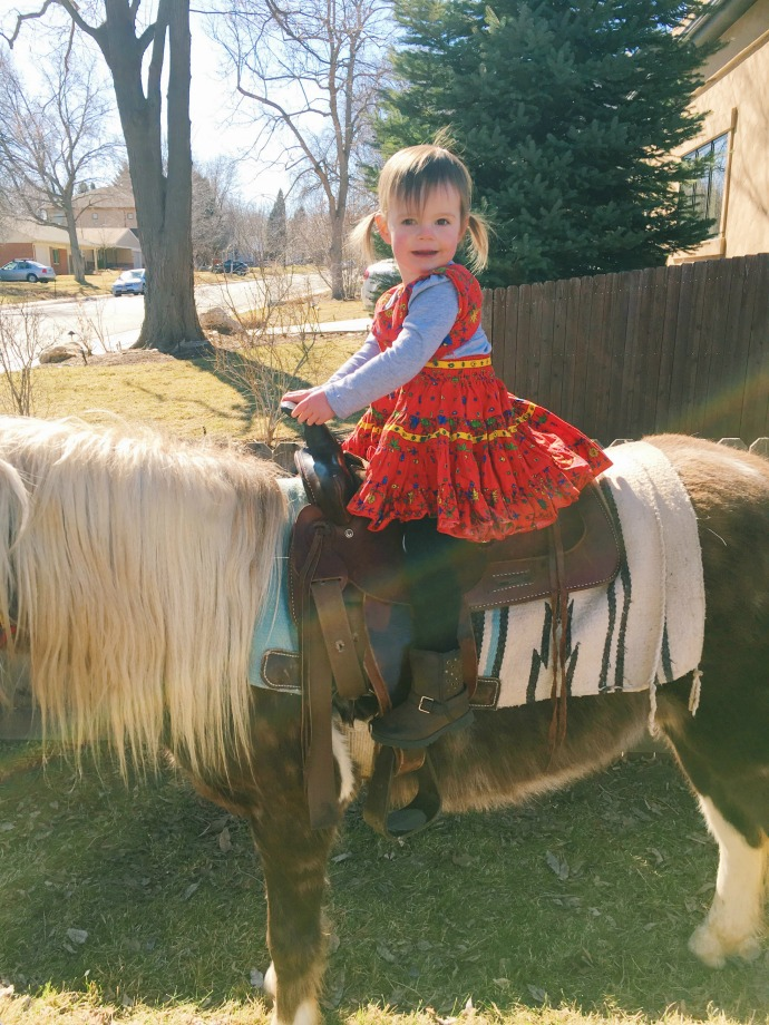 this little joy: my little cowgirl