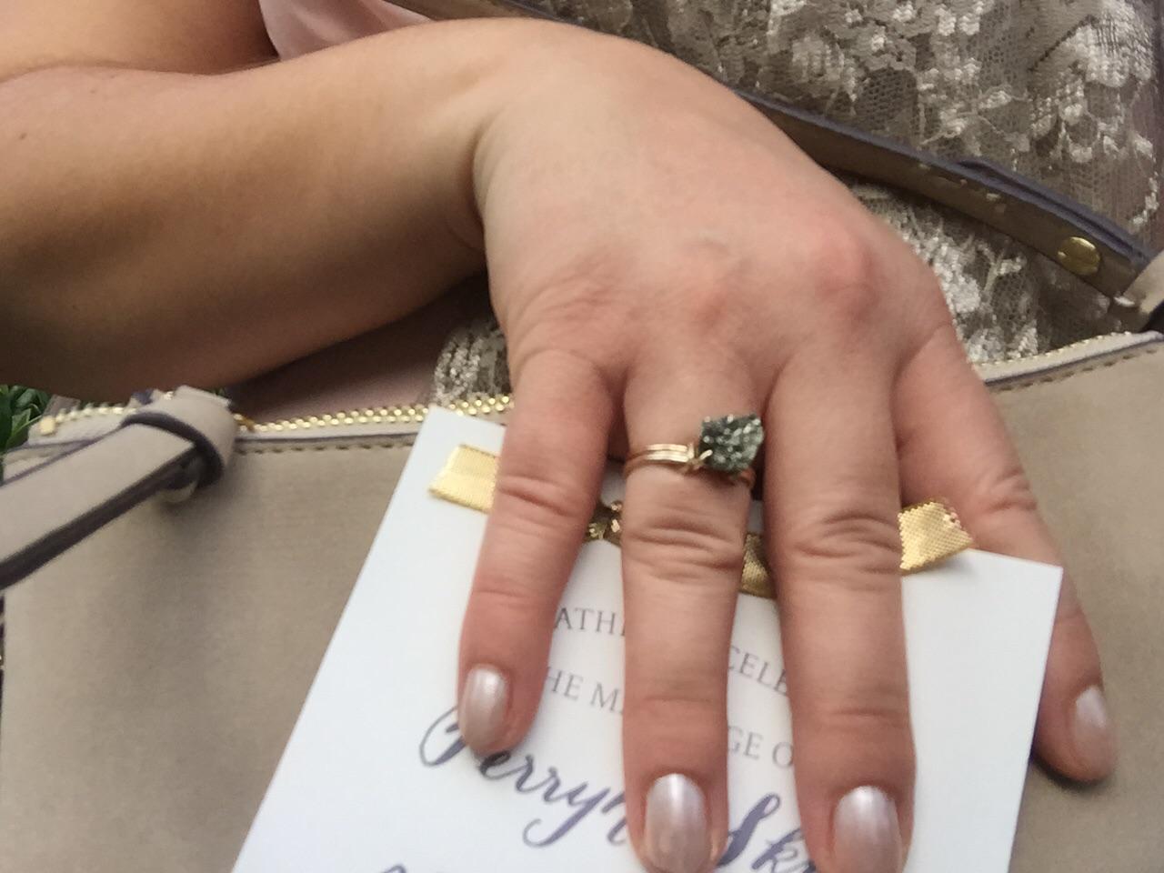...and the Raw Hemitite Ring.